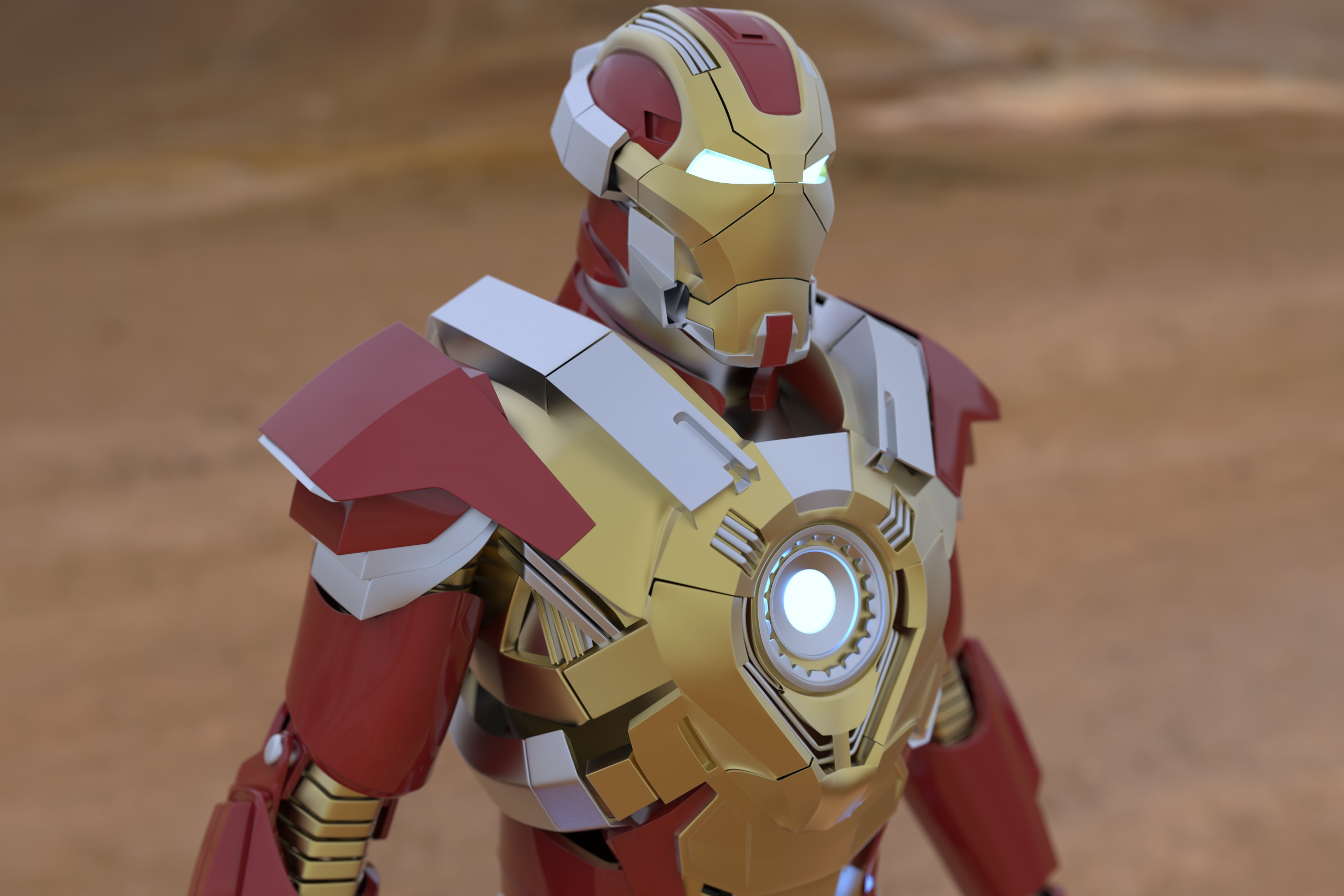 IronMan in 3d