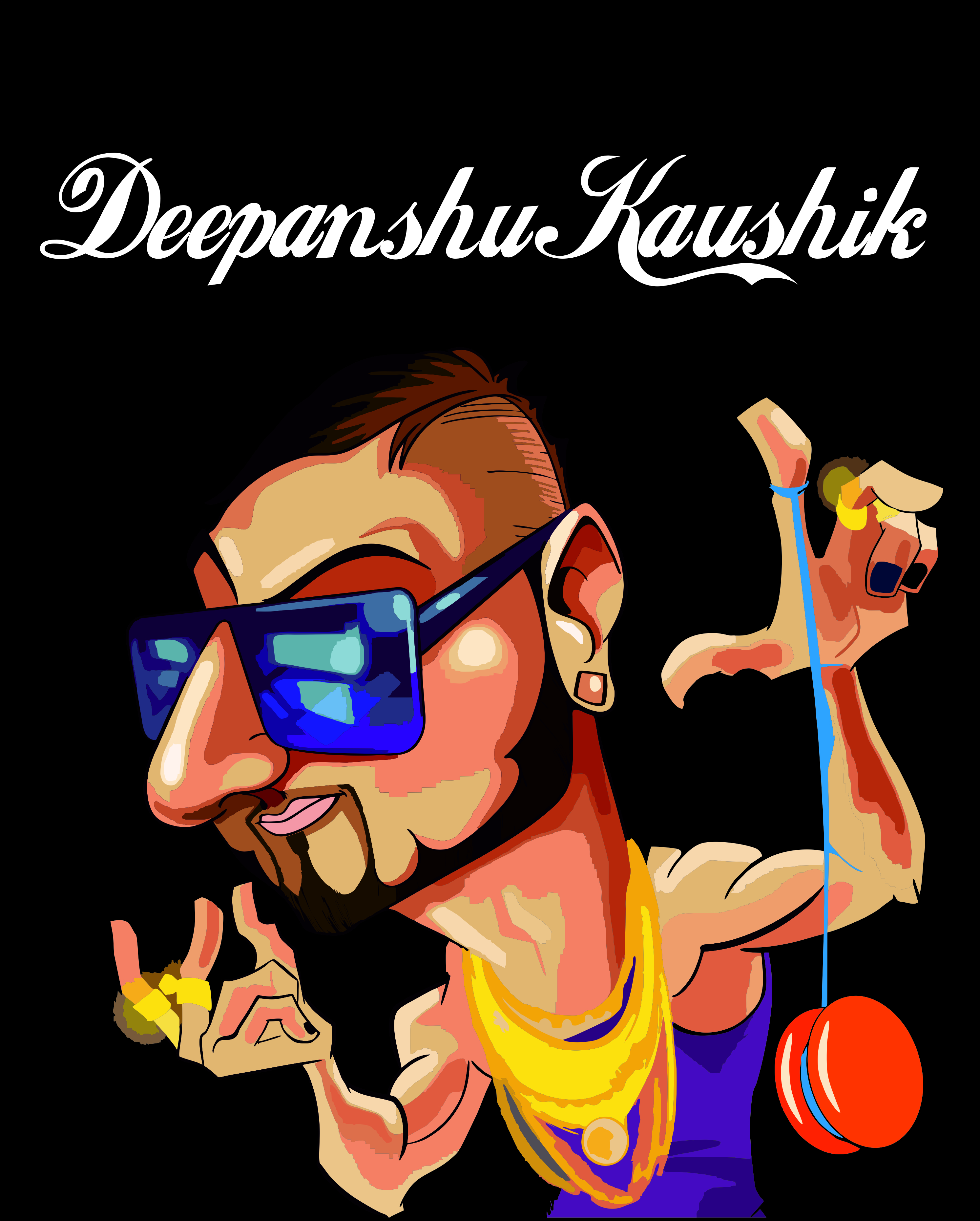 Honey singh Illustration