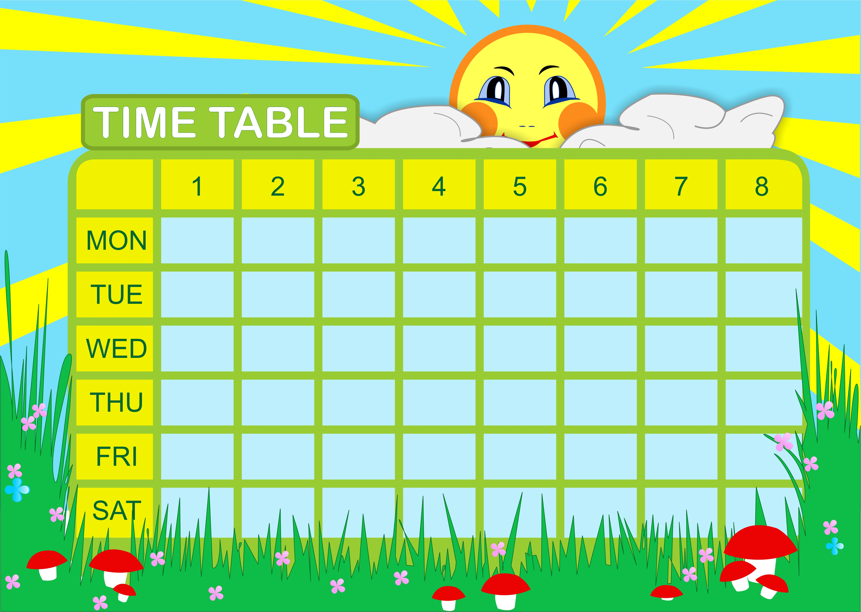 Time Table Design